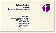 Bell Northern Research business card